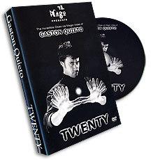 Twenty by Gaston Quieto, DVD