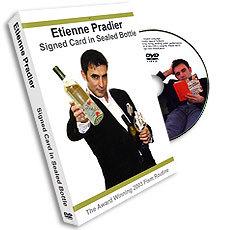Signed Card in Sealed Bottle By Etienne Pradier - DVD