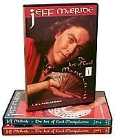 Jeff McBride - The Art of Card Manipulation - Set (Vols. 1-3) - DVD