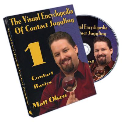 Visual Encyclopedia Of Contact Juggling - Vol.1 - Matt Olsen - DVD