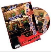 Showoff III King of Cards by Brian Tudor - DVD