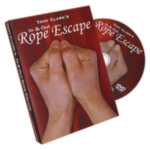 In & Out Rope Escape - Tony Clark - DVD