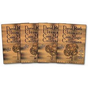 Ultimate Coin Magic Collection 1-4 with David Roth - DVD