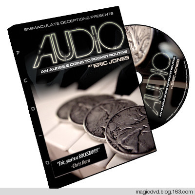 Audio Coins to Pocket by Eric Jones - DVD