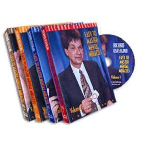 Easy To Master Mental Miracles (Set of 4 DVDs) - Richard Osterlind