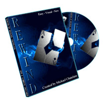 Rewind (Gimmick and DVD) by Mickael Chatelain