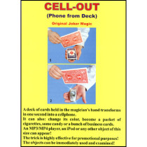 Cell-Out (Cell Phone From Card) - Joker Magic