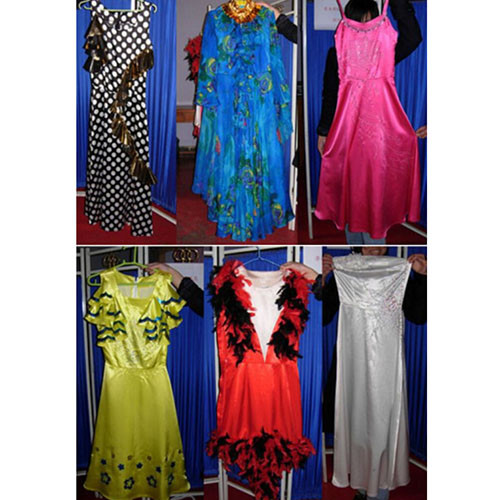 * Six High-grade Clothes Changing for Lady (Quick Change)