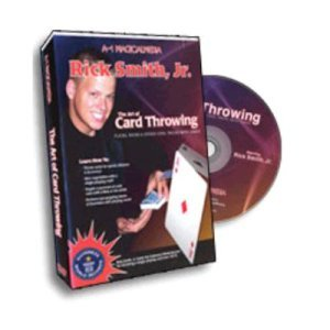 Art of Card Throwing DVD - Rick Smith Jr