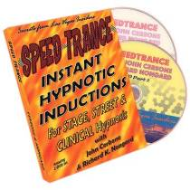 Speed Trance: Instant Hypnotic Inductions (2 DVD Set) by John Cerbone and Richard Nongard - DVD