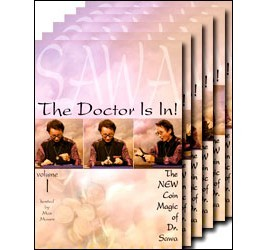 The New Coin Magic of Dr. Sawa - Volume 1-6 DVD Set
