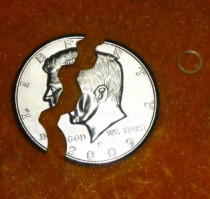 Bite Coin - US Half Dollar
