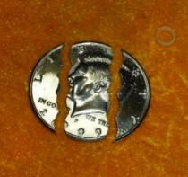 Folding Coin Half Dollar