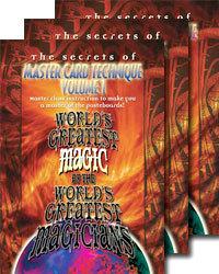 Master Card Technique Volume 1-3 (World Greatest Magic) - DVD