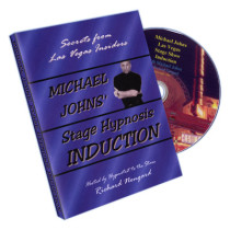 Stage Hypnosis Induction by Michael Johns - DVD