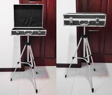 Carrying Case & Triangle Table Base (Black)