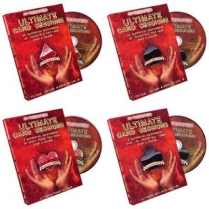 Ultimate Card Sessions (Set of 4 DVDs) - A1 MagicalMedia