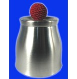 The Wide Mouth Deluxe Chop Cup - Aluminium (Silvery)