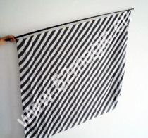 Zebra Silk Production (Black and White, 1.8m*1.4m)