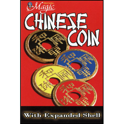 Expanded Chinese Shell w/Coin (4 Colors)