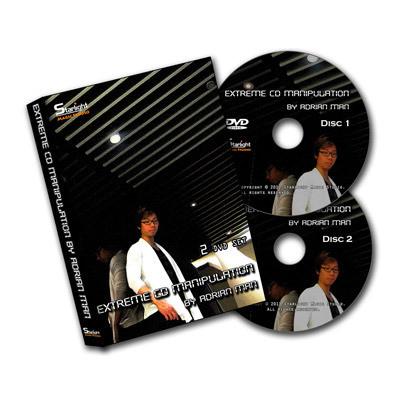 Extreme CD Manipulation by Adrian Man (2 DVD set)
