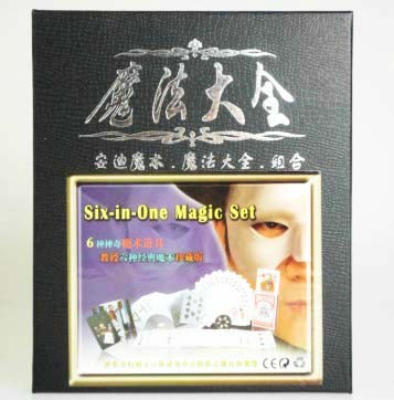 Six-in-one Magic Set