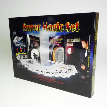 Coin Magic and Manipulation Cards Set
