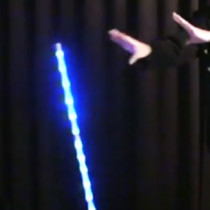 Dancing Cane LED - Folding Deluxe (5 Colors)