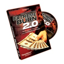 Extreme Burn 2.0 With DVD & Gimmick by Richard Sanders
