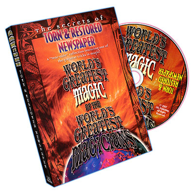 Torn And Restored Newspaper (World Greatest Magic) - DVD