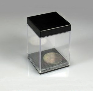 Coin Appear in Crystal Box