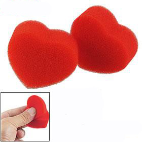Magic Hearts - Double Red Sponge