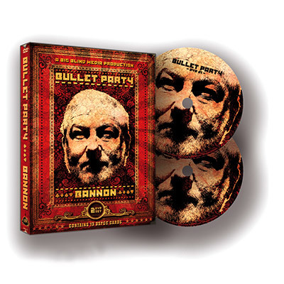 Bullet Party (Gimmick and DVDs) by John Bannon & Big Blind Media