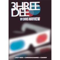 3hree Dee by Chris Mayhew & Vanishing Inc - DVD