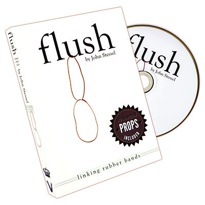 Flush (DVD and Gimmick) by John Stessel and Vanishing Inc.