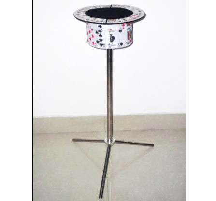 Collapsible Card Top Hat Stand - Side Table