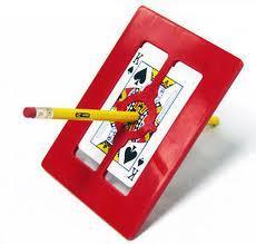 Magic Frame - Pencil Thru Card and Frame