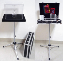 Glass Breaking Table and Aluminium Case Magic Table Combination Trick