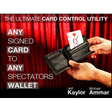 Any Card to Any Spectator's Wallet (DVD and Gimmick) By Jeff Kaylor and Michael Ammar