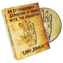 An Extraordinary Exhibition of Seeing with the Fingertips (DVD and Deck) by Luke Jermay