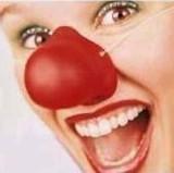 Clown Joker Red Nose - Rubber