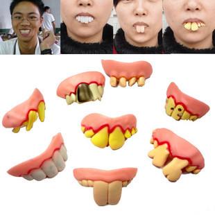 Funny Various Modelling Bucktooth Dentures