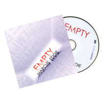Empty (DVD and Gimmick) by Marcus Eddie and Kozmomagic