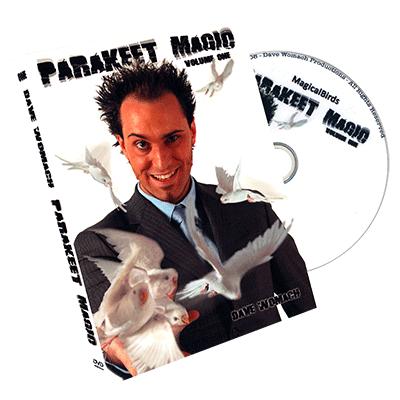 Parakeet Magic by Dave Womach - DVD