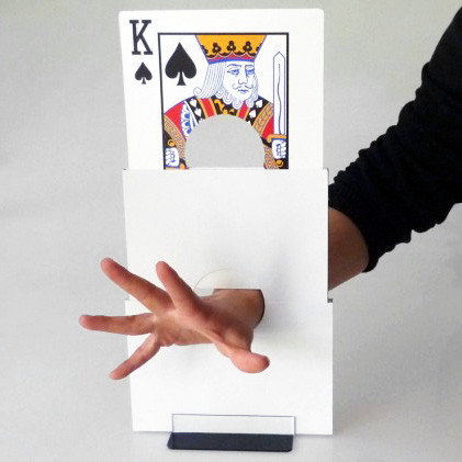 Card Through Arm Illusion by China Magic