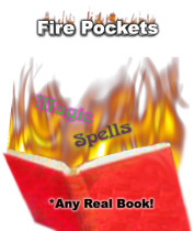 Any Book - Fire Book Gimmick - Fire Pockets