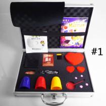 Professional Close-Up Case + Magic Set + DVD