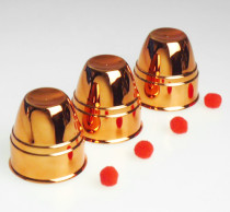 Cups & Balls - Plated Copper - Plastic