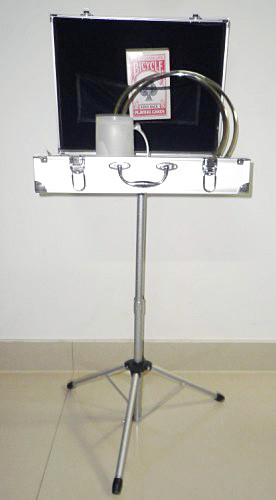 Carrying Case & Table Base (Silvery)