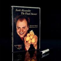 The Final Answer - Bill in Lemon Magic (Gimmick Props + 2 DVD) by Scott Alexander